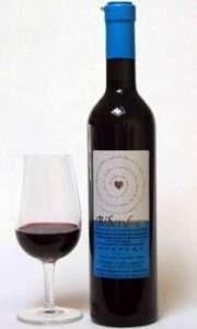 Bibendum - vino rosso dolce, frutto di una vendemmia tardiva di uve barbera