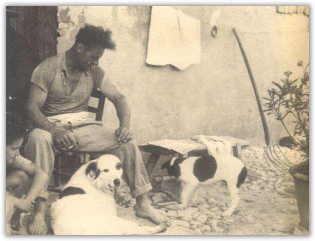 Il nonno Armando negli anni Trenta